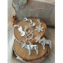 Bracelet Snowflake Silver By Jokkmokks Tenn