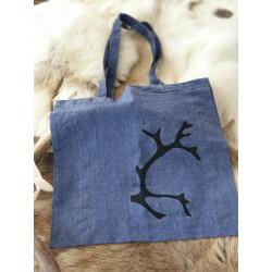 Bag Fabric Reindeerhorn Denimblue