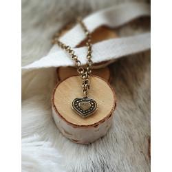 Bracelet Vintage Heart Bronze By Kalevala
