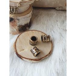 Halsband Vintage Cylinder Brons Från Kalevala