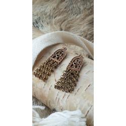 Earrings Vintage  Bronze By Kalevala