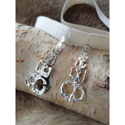 Earrings Tundra Nr 552 Silver By Juhls