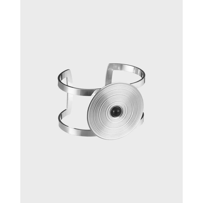 Armband Kosmos Svart Onyx Silver Från Kalevala