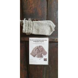 Knitting Pattern Gloves From Jukkasjärvi Church