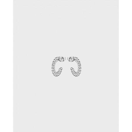 Örhängen Circle Of Light Silver Små Från Kalevala
