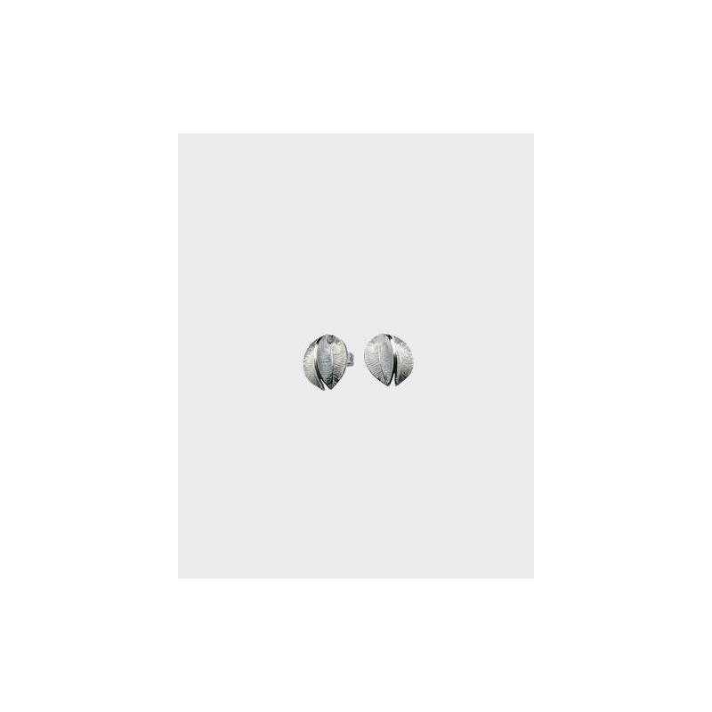 Earrings Snowflower Small Silver By Kalevala