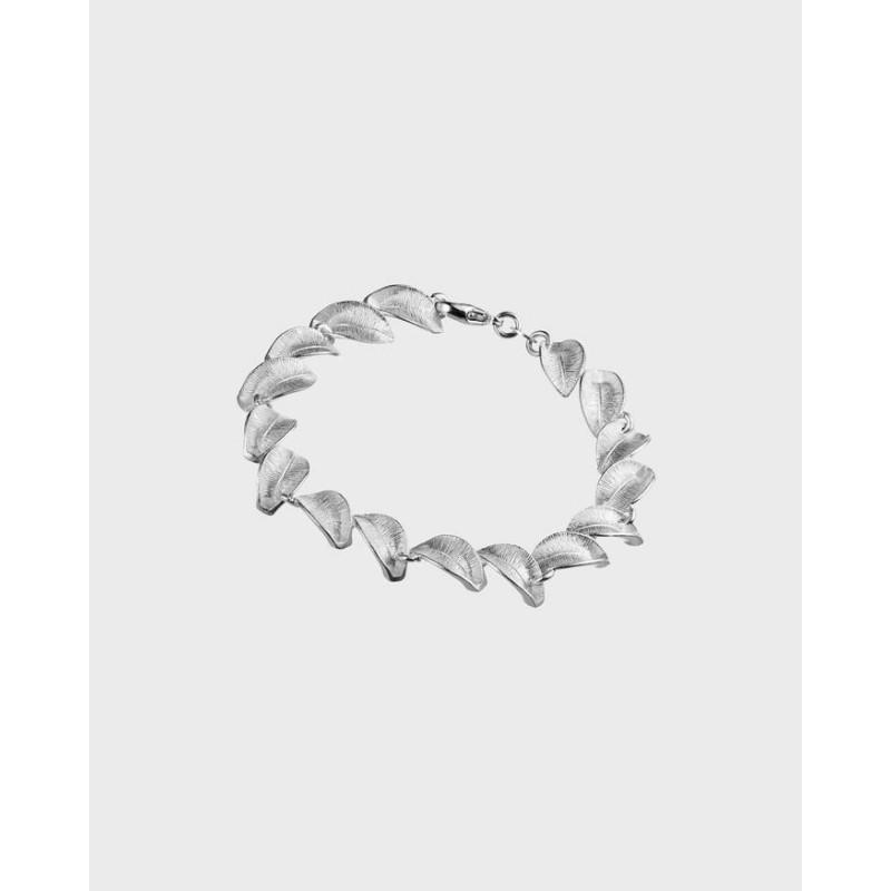 Armband Snöblomma Silver Från Kalevala