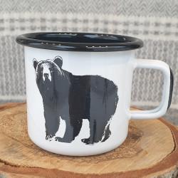 Mug Enamel Bear
