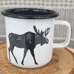 Mug Enamel Moose