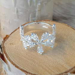 Ring Snow Crystal Silver By...