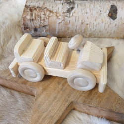 Toy Car Wood Light