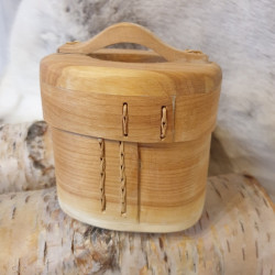 Woodbox Handle With Lid...