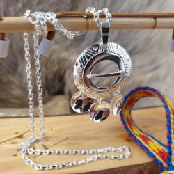 Halsband Silver Tre Kläppar...