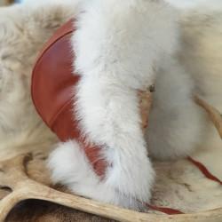 Cap Reindeerleather And Fur...
