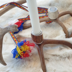 Candle Holder Reindeerantler